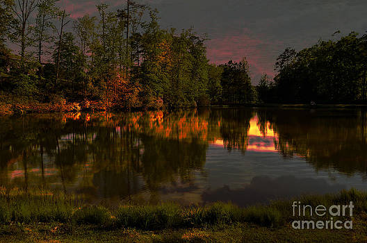 Shimmering Waters by Reflections by Brynne Photography