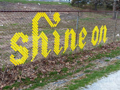 Christine Stack - Shine On Sign