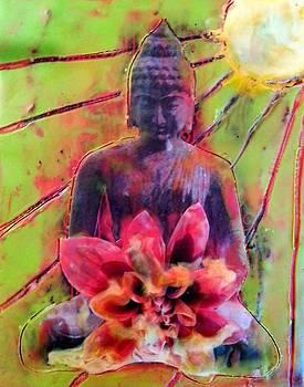 Shining Buddha by Courtney Putnam