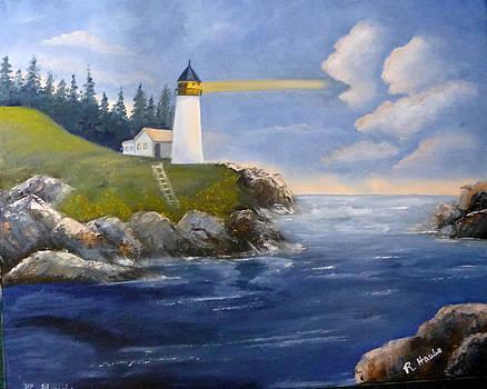 Shining light by Reta Haube
