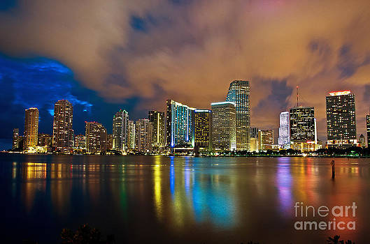 Shining Miami by Alessandro Giorgi Art Photography