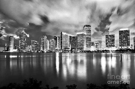 Shining Miami B/W edition by Alessandro Giorgi Art Photography