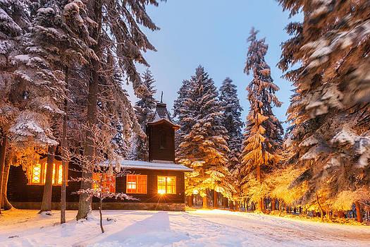Shininng Church by Evgeni Dinev