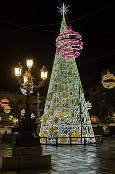 Shiny christmas tree by Juan Pablo De la Cruz Gutierrez