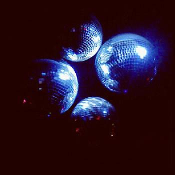 Shiny Disco Balls by Birdie Garcia