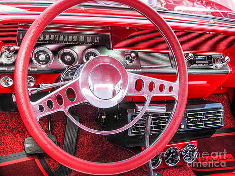 Jaclyn Hughes Fine Art - Shiny Red Belair
