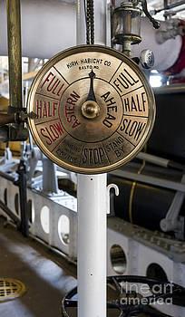 Steven Ralser - Ship control telegraph