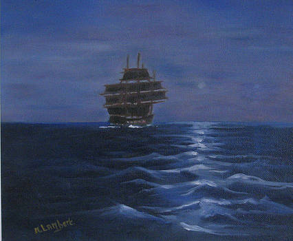 Ship Ghosting Away by Mary Lambert
