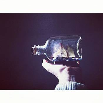 Ship in a Bottle by Courtney Jines