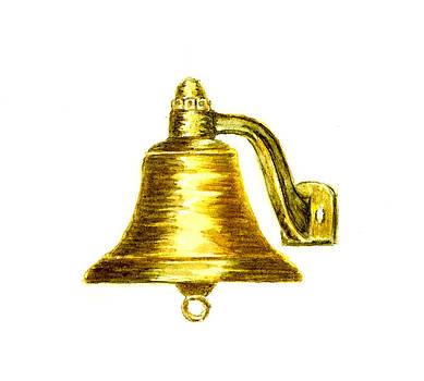 Ship's Bell by Michael Vigliotti