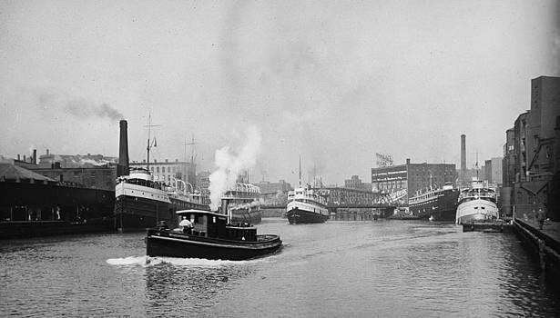 Steve K - Ships in the harbor 2