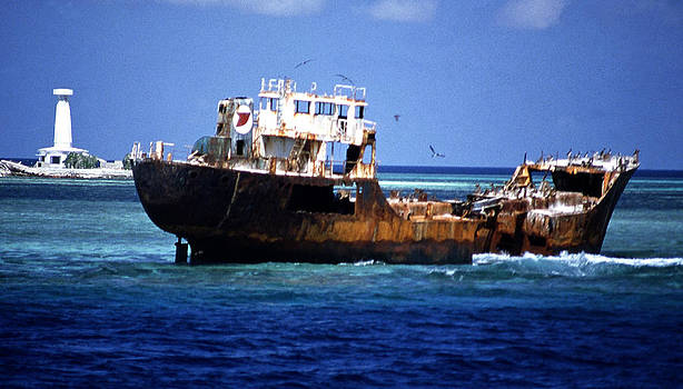 Joe  Connors - Shipwreck off Palawan