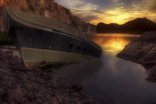 Jason Politte - Shipwrecked and Lost - Landscape - Sunset