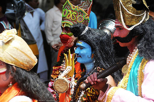 Shiva and Friends by Money Sharma