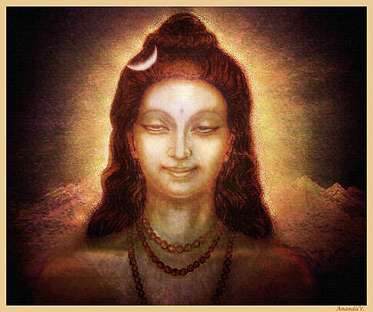 Shiva in Transcendental Bliss by Ananda Vdovic