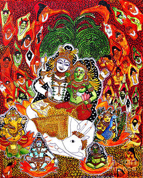 Shiva kudumba by Saranya Haridasan