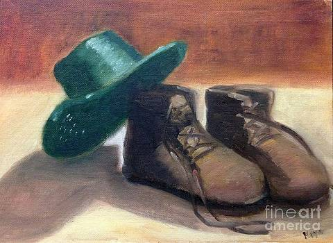 'Shoes and Hat'  by Keya Majmundar