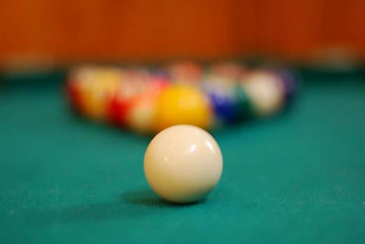 Shootin' Pool by Mischelle Lorenzen