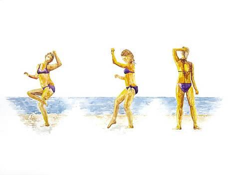 Patricia Beebe - Shore Dancer Pinecrest Lake California