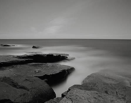 Shoreline Crevice by James Cormier
