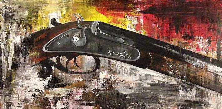 Shot Gun  by Adriana Sharpe