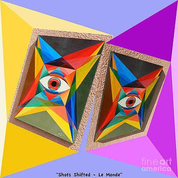 Shots Shifted - Le Monde 2 by Michael Bellon