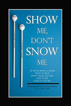 Show Me Don't Snow Me by Steve  Raybine