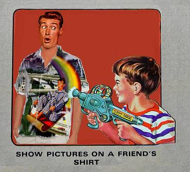 Show pictures on a shirt by Alan McCormick