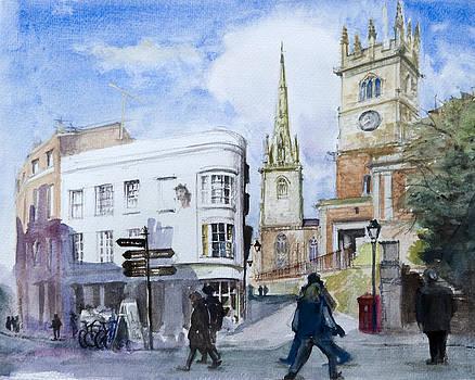 Shrewsbury. Town Centre by Bakhtiar Umataliev