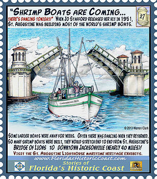 Shrimp Boats Are Coming by Warren Clark