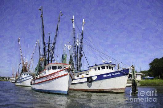 Dale Powell - Charleston Shrimp Boats