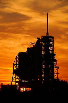 Ricky Barnard - Shuttle Silhouette