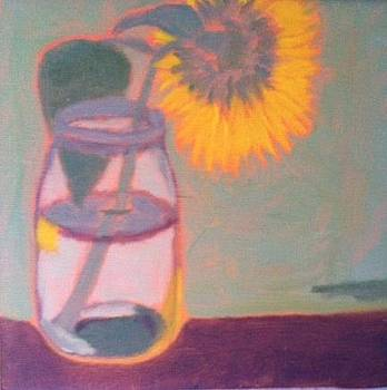 Shy Sunflower by Molly Fisk