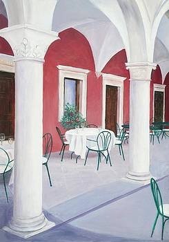 Jan Matson - Sibenik Cafe Croatia