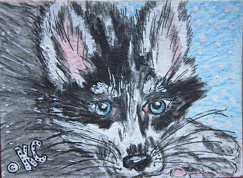 Siberian Husky by Kathy Marrs Chandler