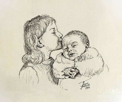 Sibling Love by Art By - Ti   Tolpo Bader