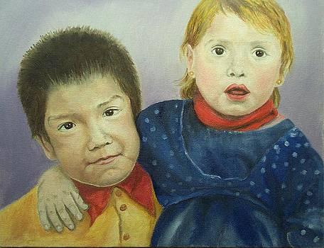 Irene Pomirchy - Siblings