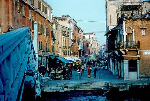 Side street Venice 1961 by Cumberland Warden
