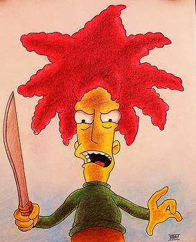 Sideshow Bob by Brent Andrew Doty