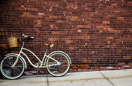 Sidewalk Parking by Karol Livote