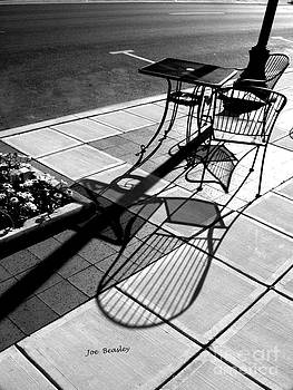 Sidewalk Shadows by   Joe Beasley