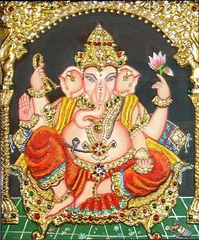 Sidha Ganapathi by Jayashree