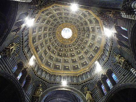 Siena Duomo Dome by Judith Sweeney