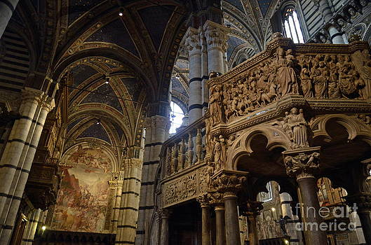Siena's Duomo cathedral by Sami Sarkis