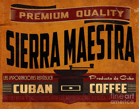 Sierra Maestra Crate Label by Cinema Photography