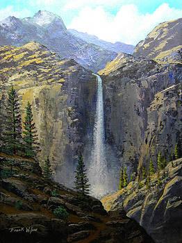 Frank Wilson - Sierra Nevada Waterfall