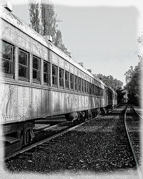 Sierra Railway On The Tracks by William Havle
