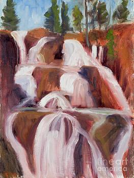 Sierra Waterfall by Suzanne Elliott