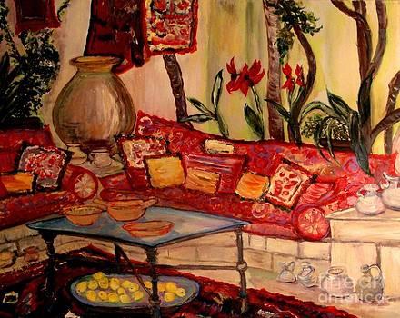 Sierra's Garden Room by Helena Bebirian