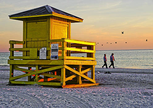 Dennis Cox - Siesta Key Sunset